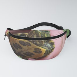 Baby red-eared slider turtle Fanny Pack