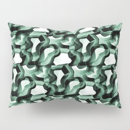 Linear Minimalism Geometric Abstrcact in Contemporary Style Pillow Sham