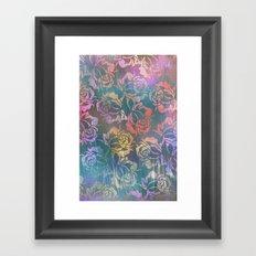 Rose Pattern 3 Framed Art Print