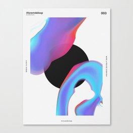 Lorem de Loop #003 Canvas Print
