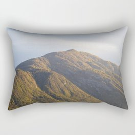 Lake Como Hills at Sunset Rectangular Pillow