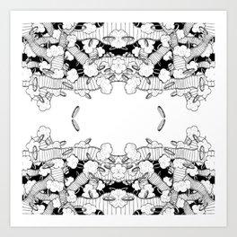 Rings 4 Art Print