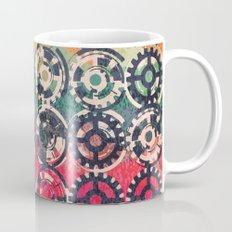 Grunge industrial pattern Mug