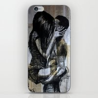 kiss iPhone & iPod Skins featuring kiss by Krzyzanowski Art