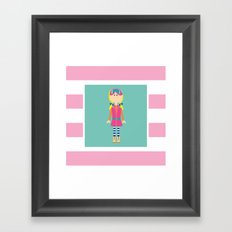 Hit The Slopes! Framed Art Print