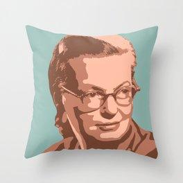 Shirley Jackson Throw Pillow