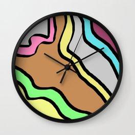 Brown way Wall Clock