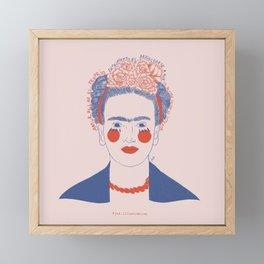 Frida Kahlo Framed Mini Art Print
