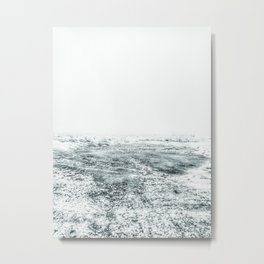 | In cosmic cold - endless winter | Metal Print