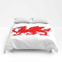 Welsh Dragon Comforters