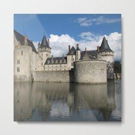 France Photography - Château De Sully-Sur-Loire Metal Print