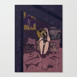 QUIET Canvas Print