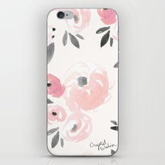 Sweet Blush Blooms iPhone & iPod Skin