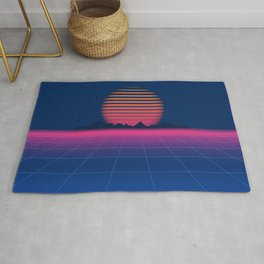 Sci-Fi and Fiction Background Rug