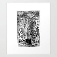 Moving Nature Art Print