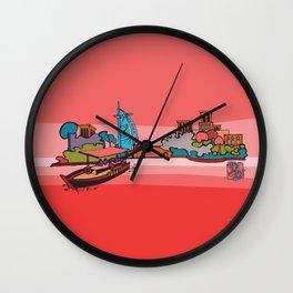 Abra at Madinat Jumeirah Wall Clock