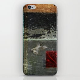 Everything is not okay iPhone Skin