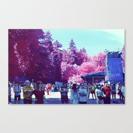 Stanley Park Infrared Canvas Print