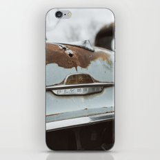 Vintage Plymouth iPhone Skin