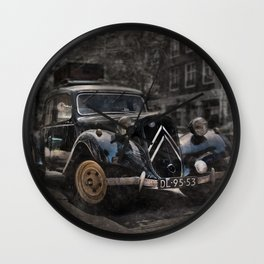 Ready for the trip Wall Clock