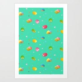 Space Critter Art Print