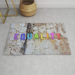 Equality Paint Rug