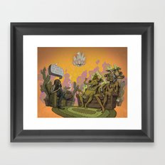 So What is the Nature of Reality? Framed Art Print