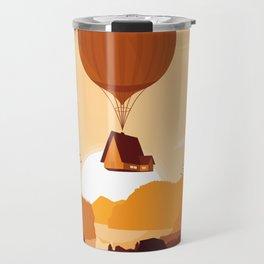 Flying House Travel Mug