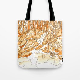 Eno River 35 Tote Bag