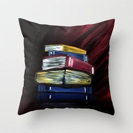 Books Of Knowledge Throw Pillow