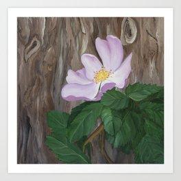 Woodland Pastel Art Print