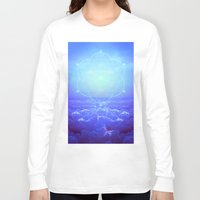 tolkien Long Sleeve T-shirts featuring All But the Brightest Stars (Sirius Star Geometric) by soaring anchor designs