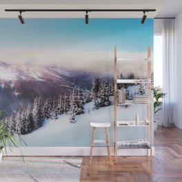 Dreamy morning scene Wall Mural