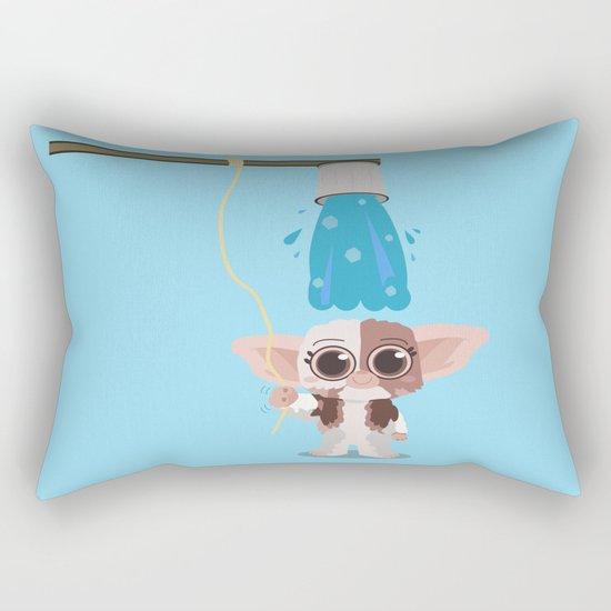 Ice bucket challenge Gizmo Rectangular Pillow