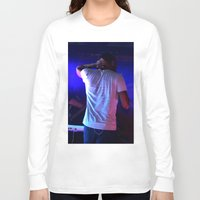 childish gambino Long Sleeve T-shirts featuring Childish Gambino by Ashley Overton