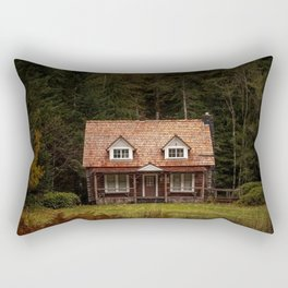 Olympic National Park Ranger Station Rectangular Pillow