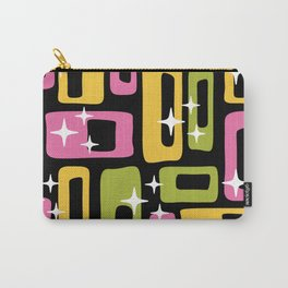 Retro Mid Century Modern Abstract Pattern 616 Carry-All Pouch
