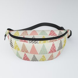 Whimsical Christmas Trees Fanny Pack