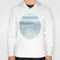 salt water Hoodies featuring Salt Water for the Soul by Bella Blue Photography