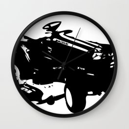 Tractoral  Wall Clock
