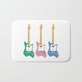 Strumming the guitar! Bath Mat