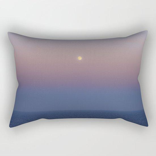 High sea full Moon Rectangular Pillow