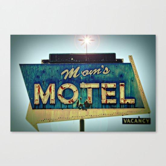 Mom's Motel Canvas Print