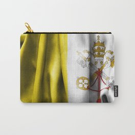 Vatican City Flag Carry-All Pouch