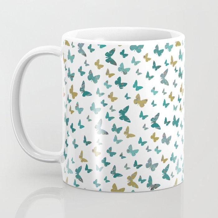butterflies_yellow Coffee Mug