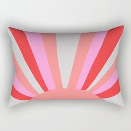 sunshine state, coral Rectangular Pillow