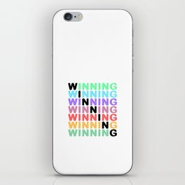 WINNING - Color Expression iPhone Skin