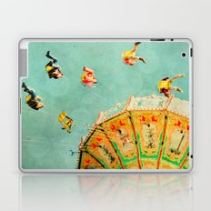 You Spin Me Right Round Carnival Swing Laptop & iPad Skin