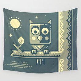 Night owl graphic design Wall Tapestry