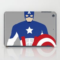 captain iPad Cases featuring Captain by Mi Absurda Osadía